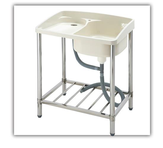 Ab 1004 outdoor sink outdoor sinks a professional for Outdoor vanity sink