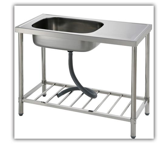 St 1000 outdoor sink outdoor sinks a professional for Outdoor vanity sink